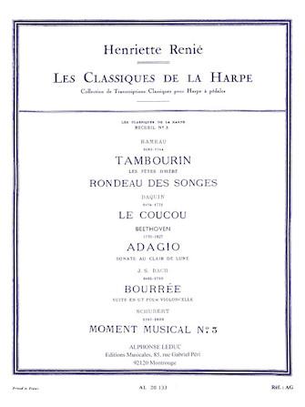 Product Cover for Les Classiques de la Harpe – Volume 3