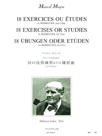 Product Cover for 18 Exercices ou Etudes de Berbiguier