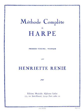 Product Cover for Méthode Complete de Harpe – Premier Volume