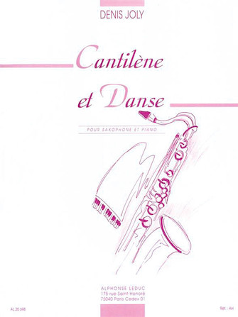 Product Cover for Cantilene Et Danse (alto Saxophone And Piano)