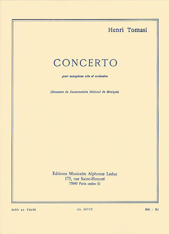 Product Cover for Concerto(saxophone Orchestre) Saxophone Et Piano