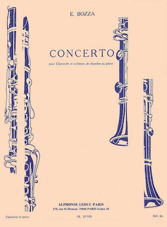 Product Cover for Concerto Pour Clarinette Et Orchestre De Chambre Ou Piano