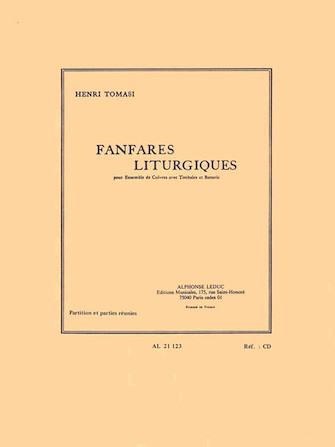 Product Cover for Liturgical Fanfares, For Brass Ensemble, Timpani And Drums