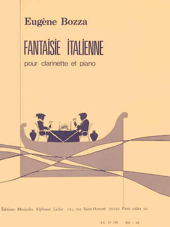 Product Cover for Fantaisie Italienne Pour Clarinette Et Piano
