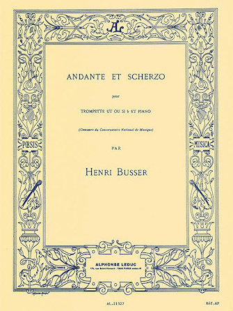 Product Cover for Andante And Scherzo, Op. 44 (trumpet And Piano)