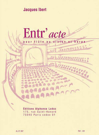 Product Cover for Entr'acte (flute And Harp)