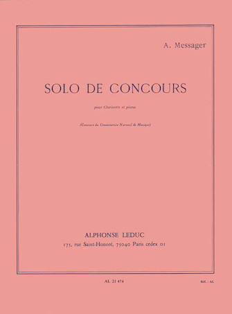Product Cover for Solo de Concours