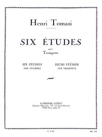Product Cover for Six Etudes Pour Trompette (trumpet)