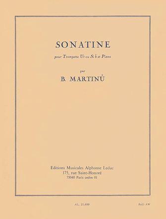 Product Cover for Sonatine Pour Trompette Ut Ou Si B Et Piano