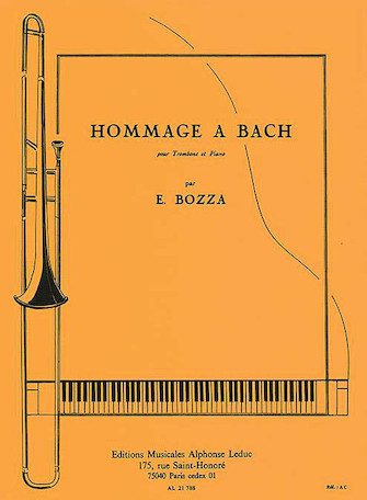 Product Cover for Tribute To Bach, For Trombone And Piano