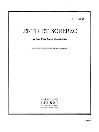 Product Cover for Lento Et Scherzo (trumpet & Piano)