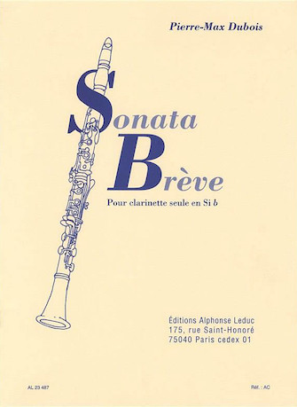 Product Cover for Sonata Breve (clarinet)