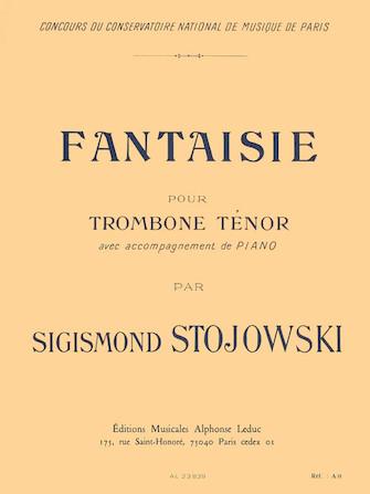 Fantasy, Op. 38 (bass Trombone And Piano)