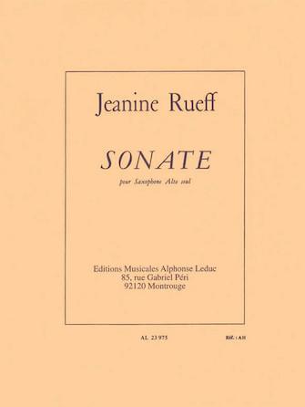 Product Cover for Sonata (alto Saxophone)