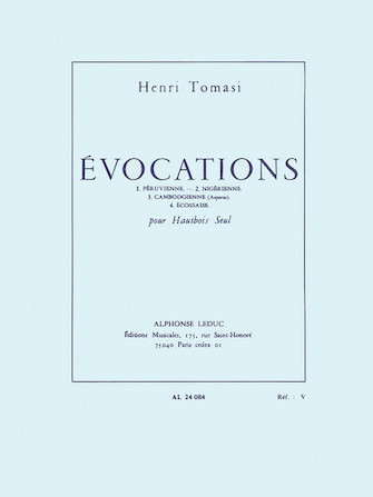 Product Cover for Evocations (oboe Solo)