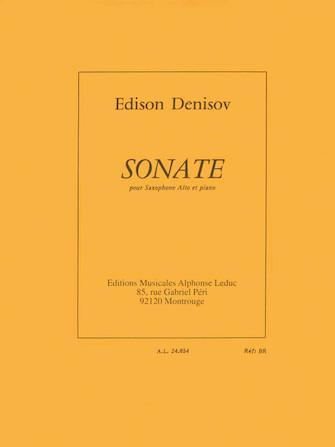 Product Cover for Edison Denisov - Sonate Pour Saxophone Alto Et Piano