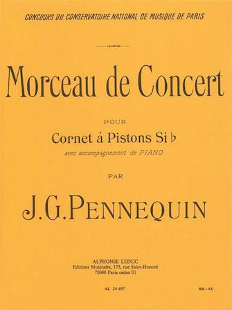 Product Cover for Morceau De Concert (cornet And Piano)