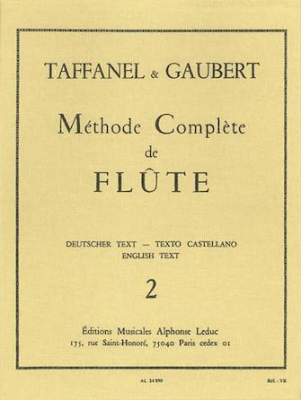Product Cover for Paul Taffanel Et Philippe Gaubert - Methode Complete De Flute, Vol. 2