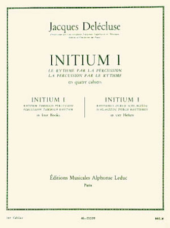 Product Cover for Initium 1 (percussion Solo)