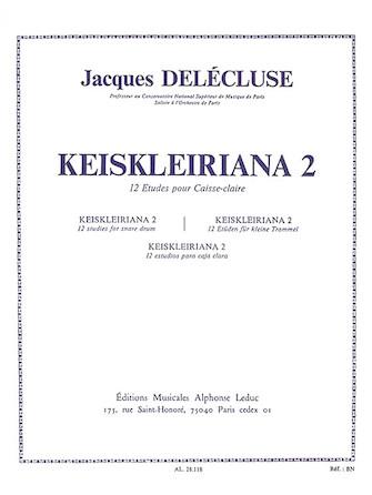 Product Cover for Keiskleiriana 2, 12 Studies For Snare Drum