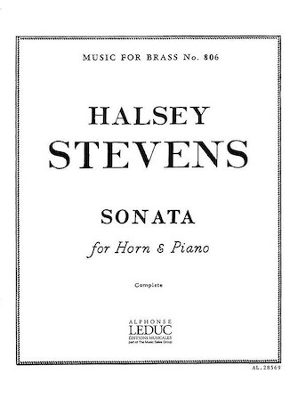 Product Cover for Sonata (horn & Piano)