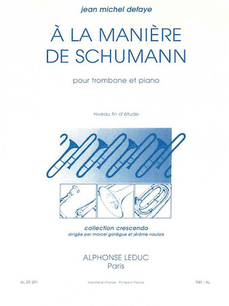 In The Style Of Schumann, For Trombone And Piano