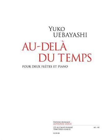 Product Cover for Au-dela Du Temps Pour 2 Flutes Et Piano