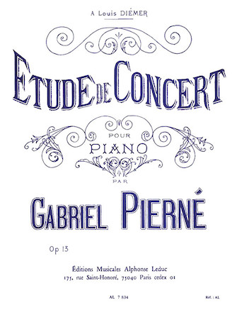 Product Cover for Concert Study, Op. 13 (piano)