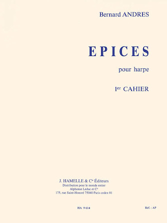 Product Cover for Bernard Andres - Epices Pour Harpe (1er Cahier)