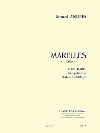 Product Cover for Bernard Andres - Marelles Pour Harpe (1<sup>er</sup> Cahier)