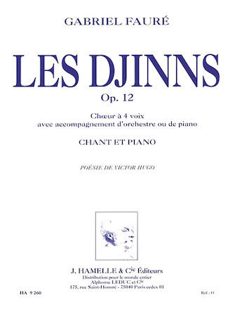 Product Cover for Les Djinns Op 12 Pour Chant Et Piano