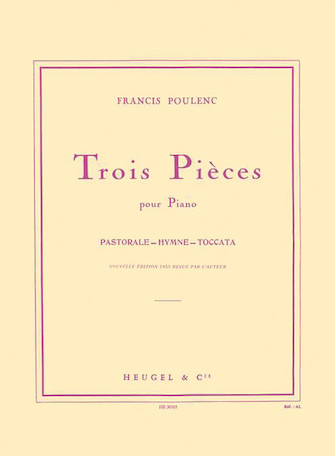 Product Cover for Trois Pieces pour Piano