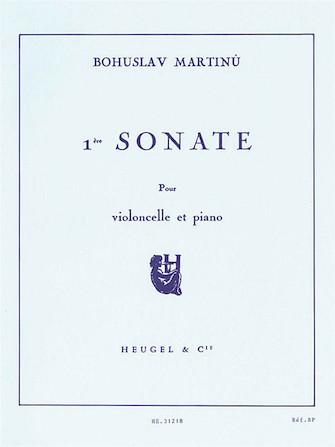 Product Cover for Sonata No.1, H277 (cello & Piano)