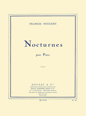 Product Cover for Nocturnes Recueil Piano
