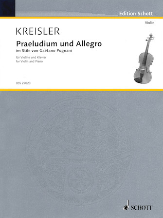 Product Cover for Praeludium and Allegro
