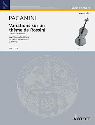 Product Cover for Variations on One String