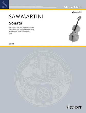 Product Cover for Cello Sonata A Minor