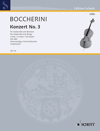 Product Cover for Concerto No. 3 in G Major