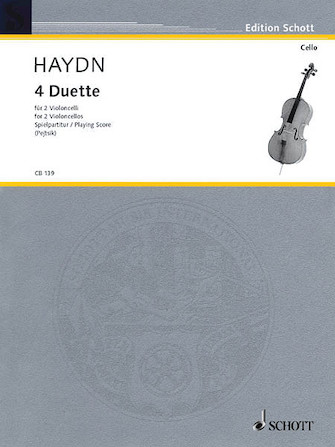 Product Cover for 4 Duets for 2 Cellos