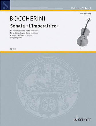 """Product Cover for Sonata in A Major """"L'imperatrice"""""""