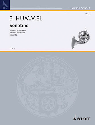 Product Cover for Sonatina Op. 75A