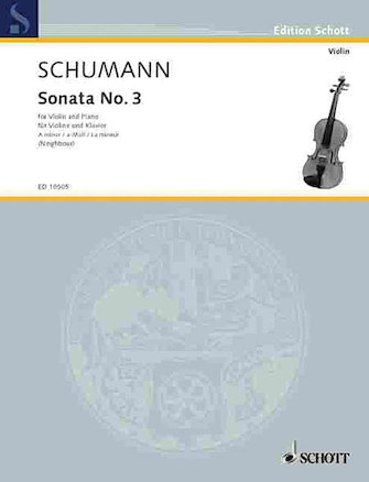 Product Cover for Sonata No. 3 in A Minor, Op. Post.