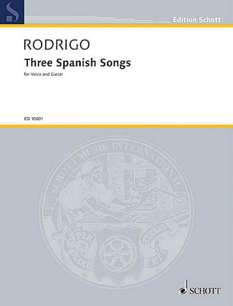 Product Cover for 3 Spanish Songs (1951)