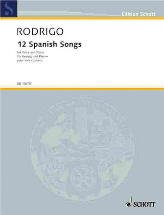 Product Cover for 12 Spanish Songs (1951)