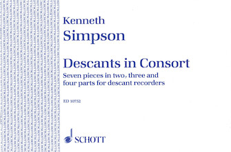Product Cover for Descants in Consort