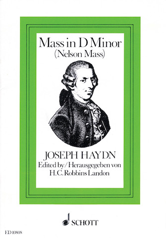 Product Cover for Nelson Mass, Hob. XXII:11