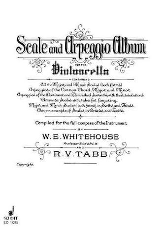 Product Cover for Scale and Arpeggio Album
