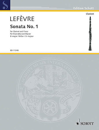 Product Cover for Sonata No. 1 (1802) from Méthode de Clarinette