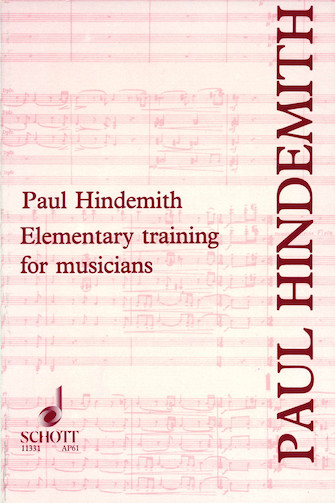 Product Cover for Elementary Training for Musicians