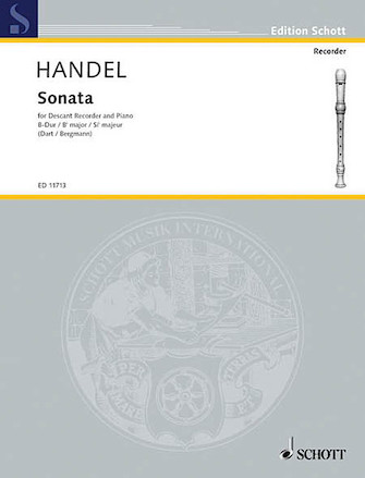 Product Cover for Sonata in B-flat Major, HWV 357